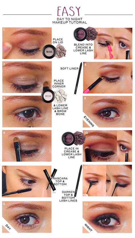 Eyeshadow Tutorial easy eye makeup tutorial for beginners makeup vidalondon