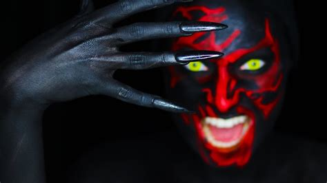 four color demons insidious chapter 3 faced makeup tutorial