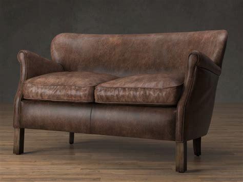 restoration hardware professor chair professor s leather chair 3d model restoration