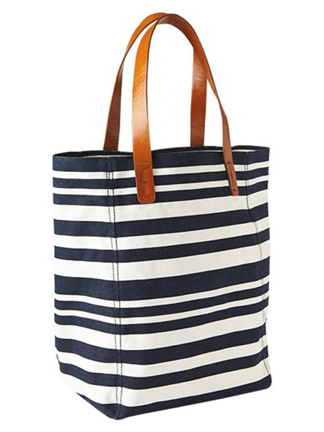 Gap Productred Canvas Tote by Seeing And Lots Of White And Blue For The