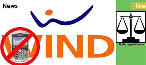 ufficio legale wind disservizi wind la risposta della sede legale
