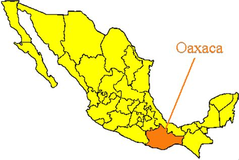 map of mexico oaxaca missions unreached adoption covenant