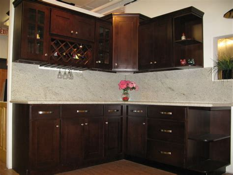 kitchen cabinet displays 1u espresso beech shaker displays contemporary kitchen