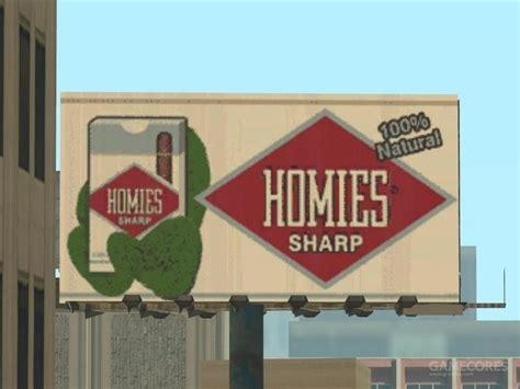 Homies Sharp gta圣安地列斯中的小细节 你都知道多少 机核