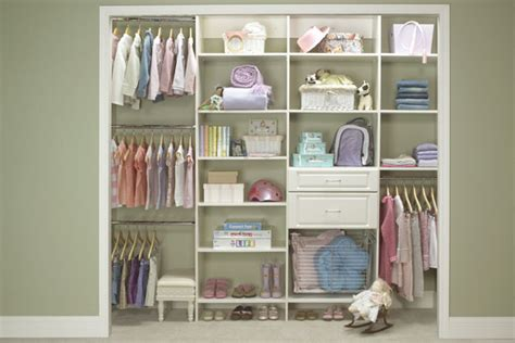 Baby Room In Closet by Elite Closets Nursery