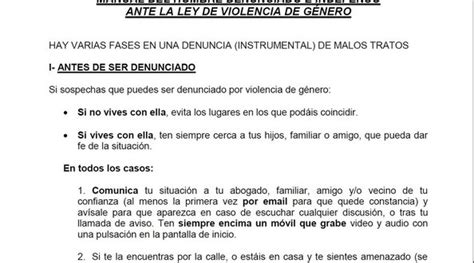 adonde recurrir para denunciar en caso de violencia c 243 mo actuar ante una falsa denuncia por violencia de