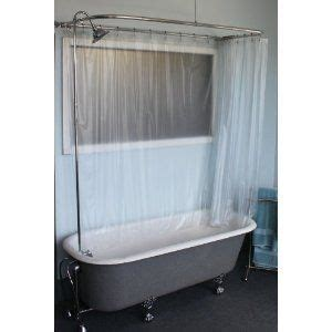 wrap around shower curtain clawfoot tub shower curtain rods curtain rods and curtains on pinterest