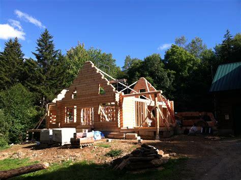 how to build a log home home design