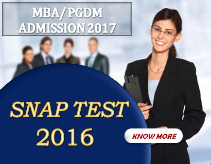 Snap Test For Mba by Mba Admission 2017 Institute Of