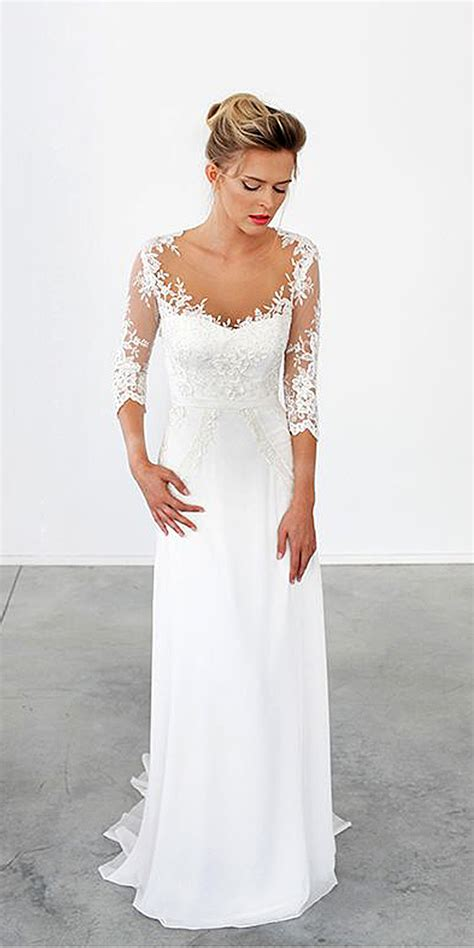 Simple Wedding Dresses by Trubridal Wedding 18 Simple Wedding Dresses For