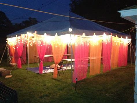 Back At The Tents by Back Yard Tent For Mendhi Function Tent