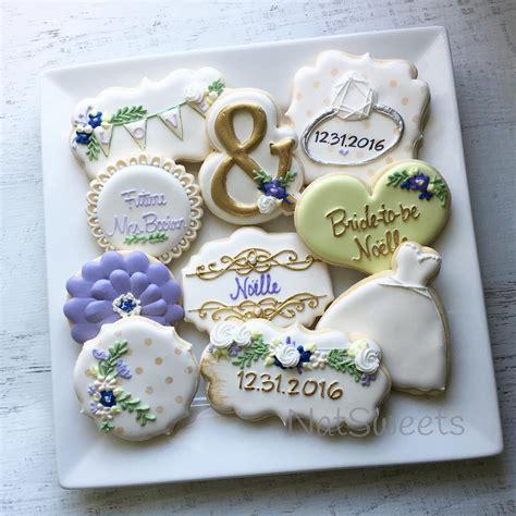 Wedding Cookie Ideas bridal shower cookies bridalshowercookies decorated