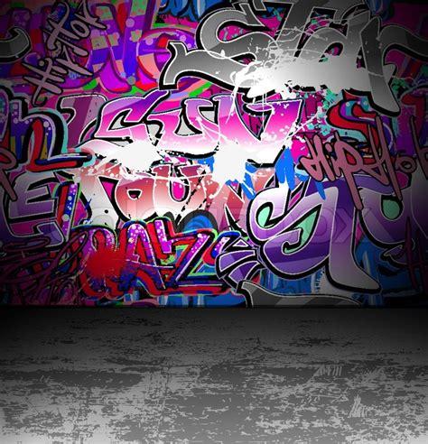 graffiti wallpaper vector graffiti wall urban street art painting stock vector