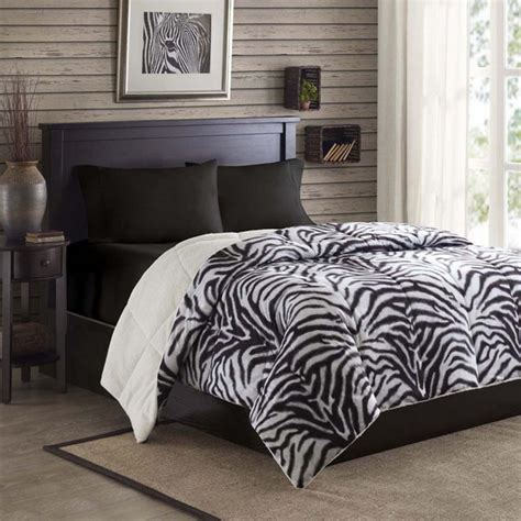 zebra print bedroom more ideas on using the zebra print for the interior