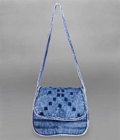 Denim Slingbag Deathnote president denim blue sling bag buy president denim blue sling bag at best prices in