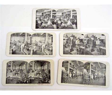Lost Sears Gift Card - lot of 5 vintage sears roebuck stereoview cards