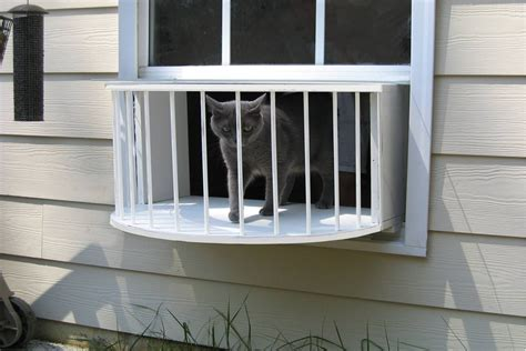 cat window box enclosure cat house cat solarium