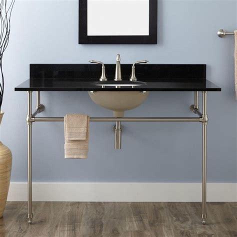 deco console sink 48 quot deco undermount console sink porcelain sink