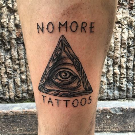 triad tattoo 65 best triangle designs meanings sacred