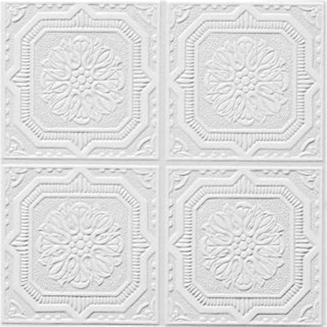 Buy Armstrong Ceiling Tiles by Wellington Tin Look Collection Tin Metal Paintable 12 Quot X 12 Quot Tile 46 By Armstrong