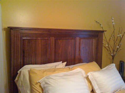 custom walnut headboard by jmt designs custommade