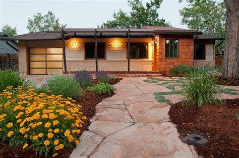 mid century modern and traditional mid century modern traditional exterior denver by