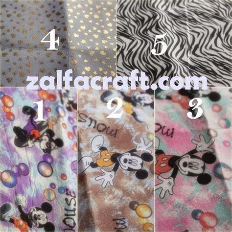 Dakron Kw 1 zalfa handmade souvenir kain flanel kursus flanel