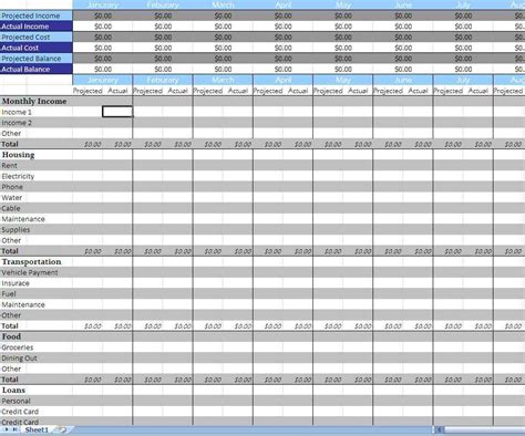 financial business plan template financial business plan template excel financial planning