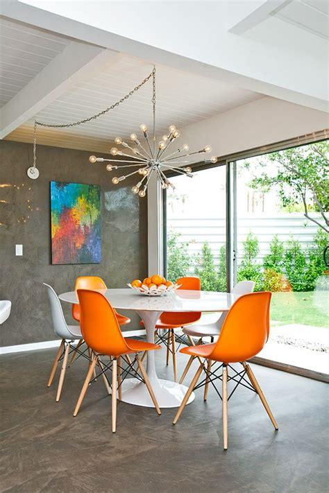 riviera resort palm springs dining room orange eames