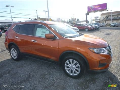 orange nissan rogue 2017 monarch orange nissan rogue s awd 117153892 photo 8