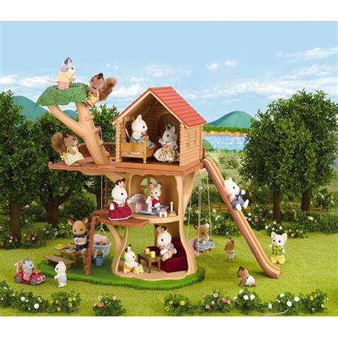 Calico Critters Adventure Tree House Go Bananas Toys