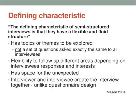 semi structured template semi structured interviews for educational research