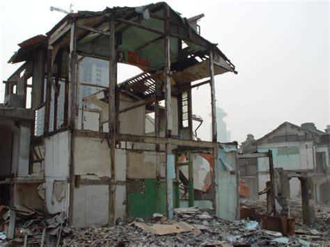 broken house shanghai house broken sharp roof