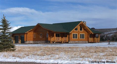 The Dakota Floor Plan by Floor Plan With Attached Log Garages Cowboy Log Homes