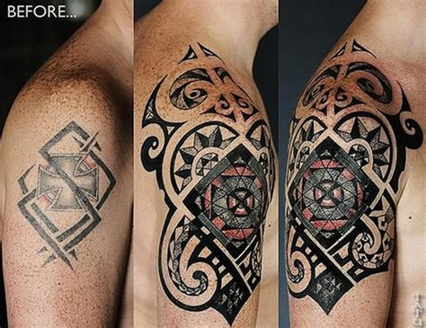 tattoo cover up ideas for men cover up ideas shoulder tattooic