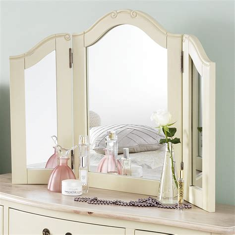 shabby chic bedroom mirrors shabby chic chagne dressing table mirror bedroom