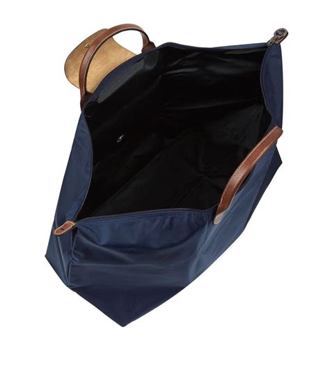 longch le pliage large travel bag in blue