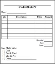 garage sale receipt template 6 free sales receipt templates excel pdf formats