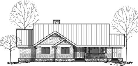 1 level house plans one level house plans single level craftsman house plans