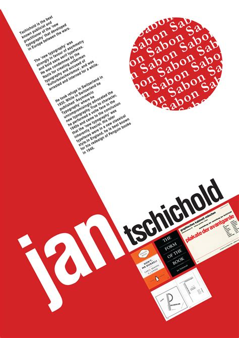 typography modern jan tschichold graphics