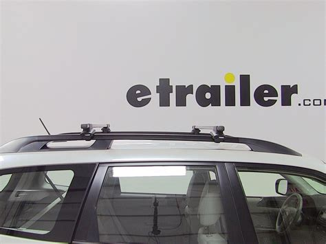 thule roof rack for 2013 subaru forester etrailer