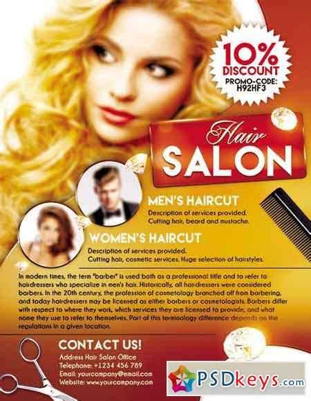Salon Flyer Flyer Psd Template Facebook Cover 187 Free Download Photoshop Vector Stock Image Via Salon Flyer Templates Psd Free