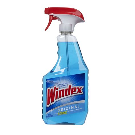shop windex 26 fl oz glass cleaner at lowes com