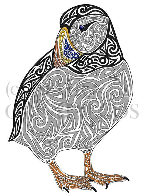 puffin tattoo by domoorichalcos on deviantart