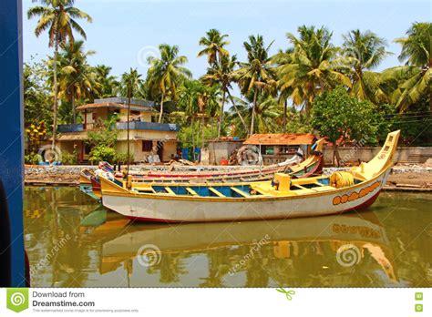 fishing boat price kerala fishing boat kerala backwaters stock photo image of