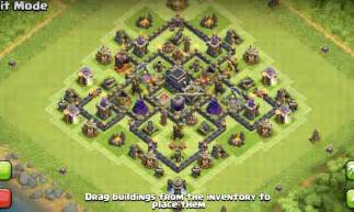 Epic th7 war base layouts amp farming base layouts for 2016