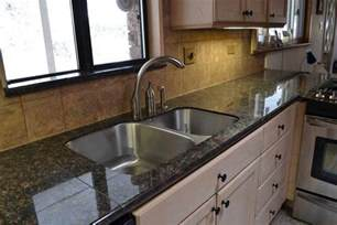Granite Tile Kitchen Countertops Brown Granite Granite Tile Countertop For Kitchen