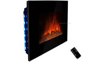 Wall Mounted Electric Fireplace Heater 36 Quot Wall Mount Electric Fireplace Heater Radiator Log Led Backlit Remote Ebay