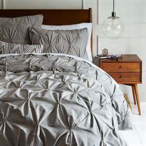 size bedroom duvet covers diy white  mightve seen these pintuck duvets at west elm for