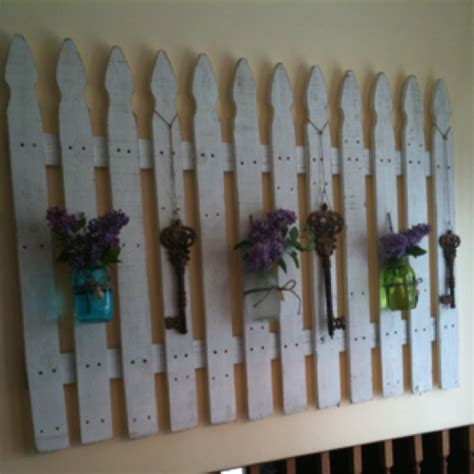 picket fence craft projects picket fence crafts ideas